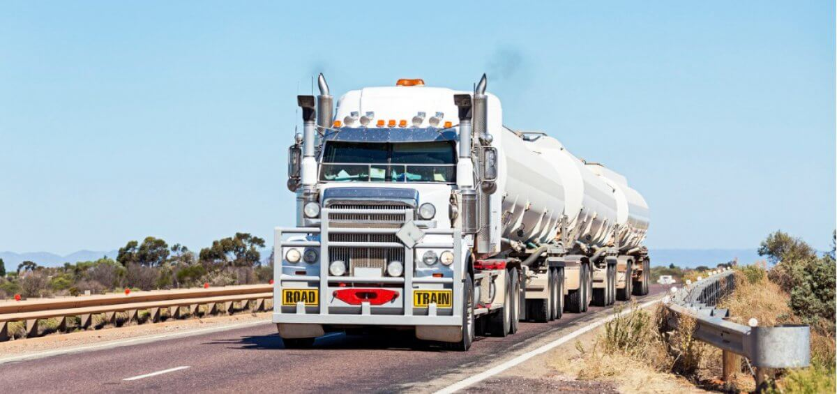 More trucks, more freight but fewer crashes