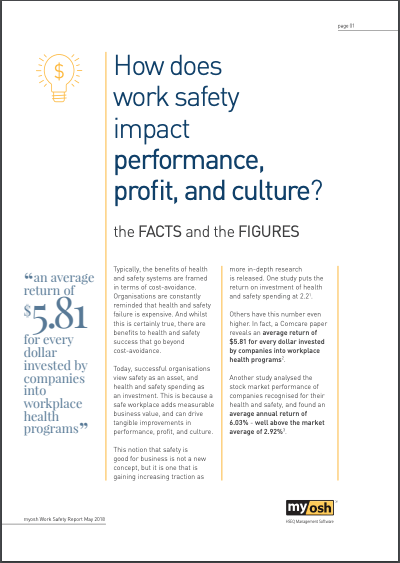 myosh How does safety impact performance profit and culture?
