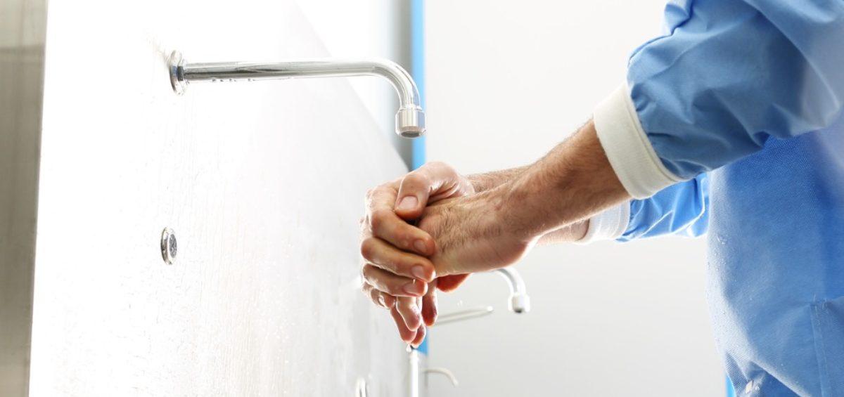 washing hands vs hand sanitiser